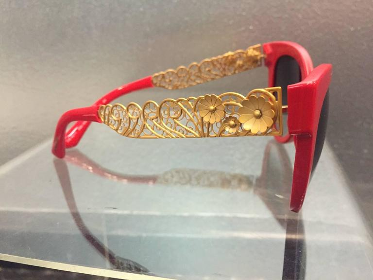 93 Sunglasses Gabbana Filigrana Cat Dolceamp; Gold BlackCinemas Eye zMpVSU