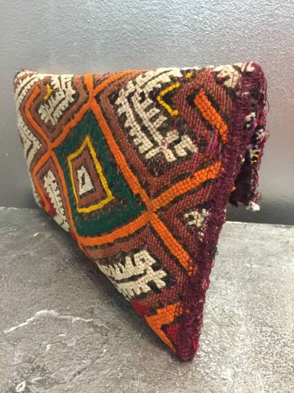 Moroccan Antique Textile Clutch  In Excellent Condition For Sale In San Francisco, CA