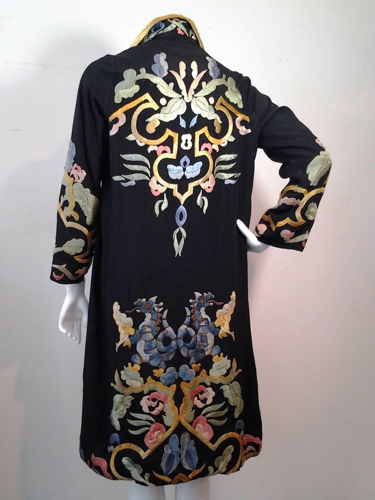 Floor Length Robe With Fur Pajamas Silk Fur Burgundy Robe