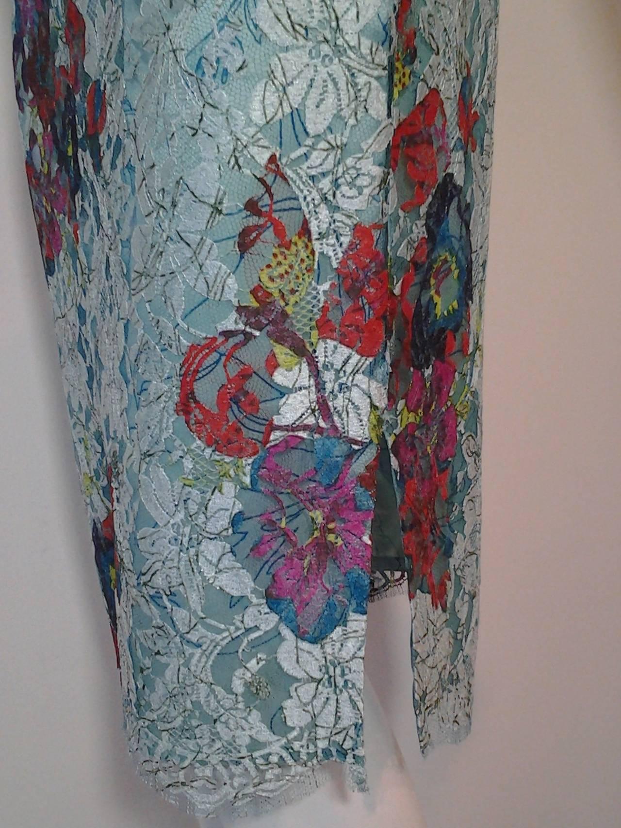 1990s Christian Lacroix Bazaar 2-Piece Sweater and Lace Skirt Ensemble 6