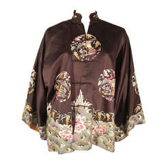 1920s Chinese Embroidered Jacket