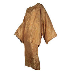 George Halley 50's Japanese Silk Jacquard Dress Ensemble