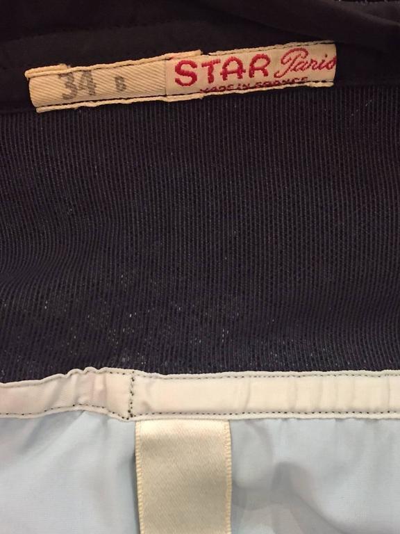 1950s Star-Paris Merry Widow Lace Lingerie w/ Attached Garters  9