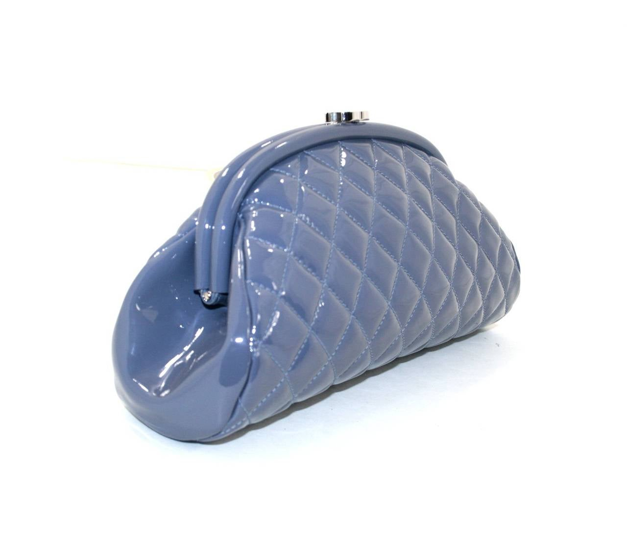 Chanel Lavender Timeless Clutch in Patent Leather 2