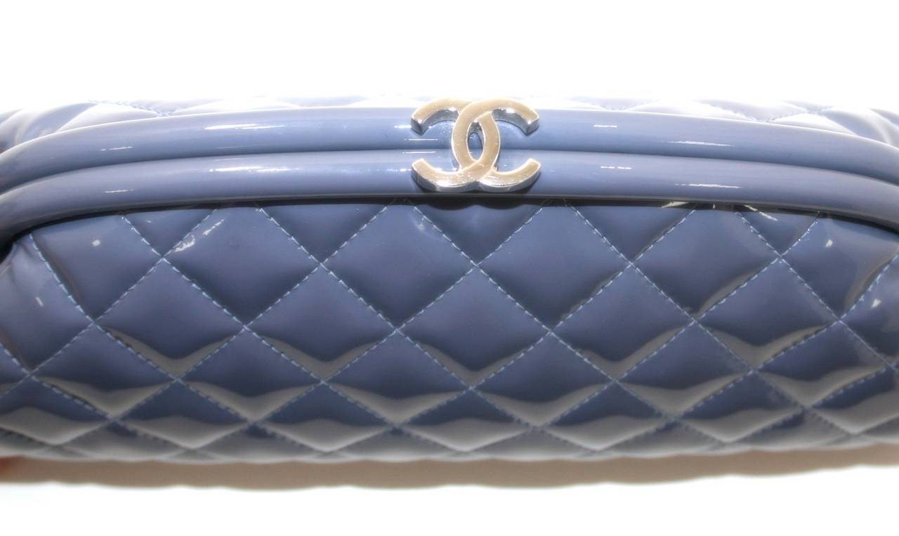 Chanel Lavender Timeless Clutch in Patent Leather 4