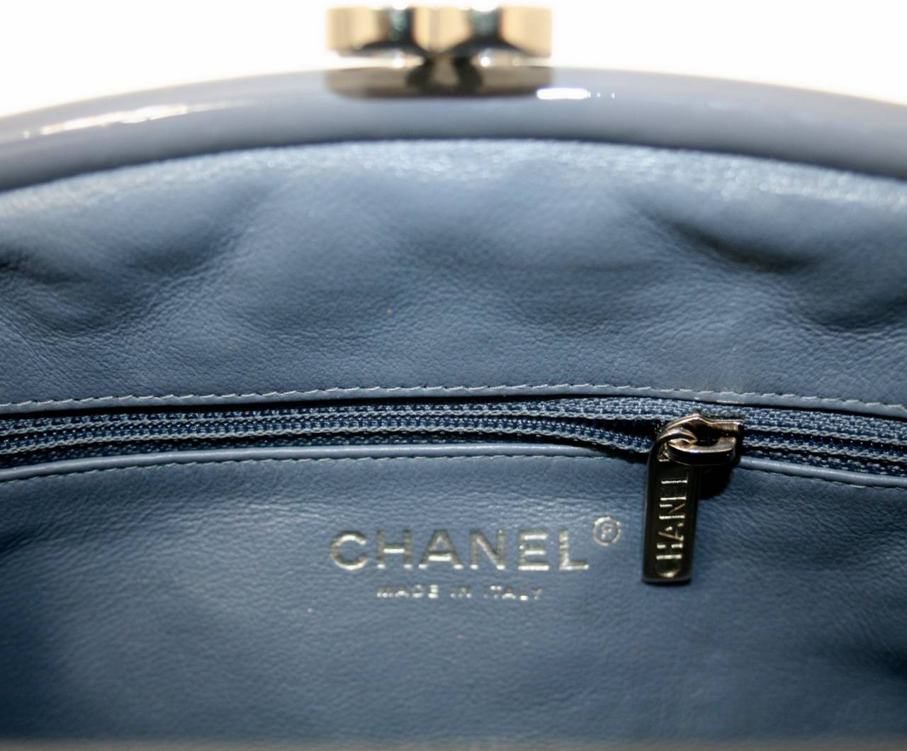 Chanel Lavender Timeless Clutch in Patent Leather 6