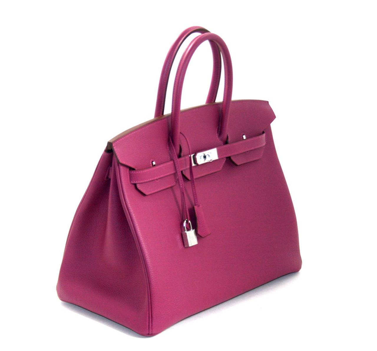 pink hermes birkin bag