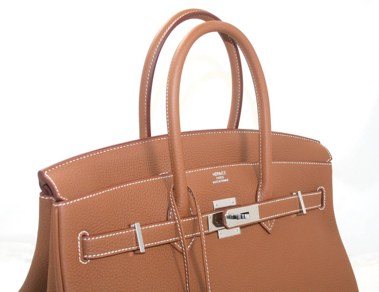 knock off hermes purse party - Hermes Birkin Bag in Gold Togo Leather PHW, 35 cm at 1stdibs