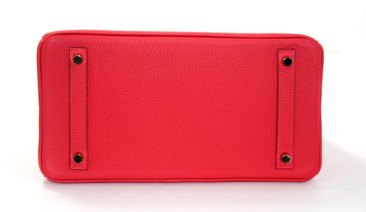 hermes bag kelly - Hermes Rouge Pivoine Togo 35 cm Birkin Bag with Gold Hardware at ...
