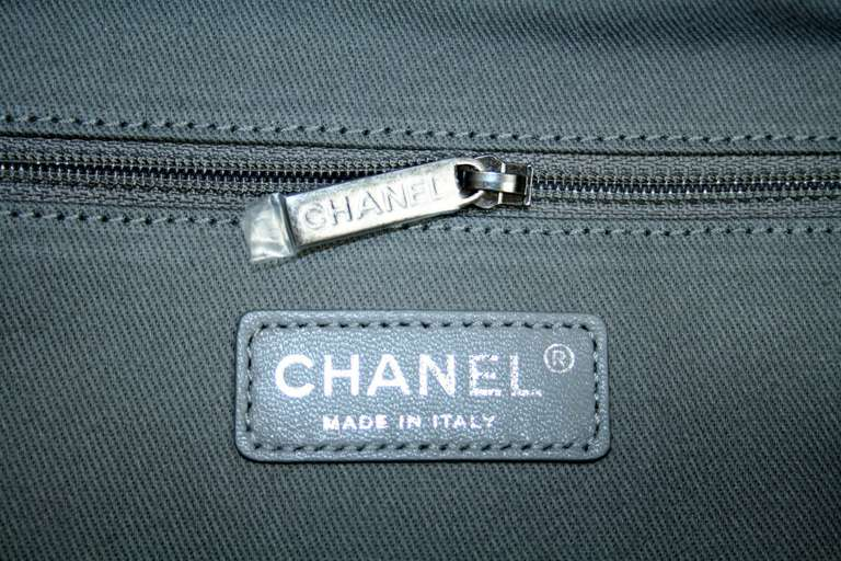 Chanel Small Black Graffiti Art School Backpack image 9