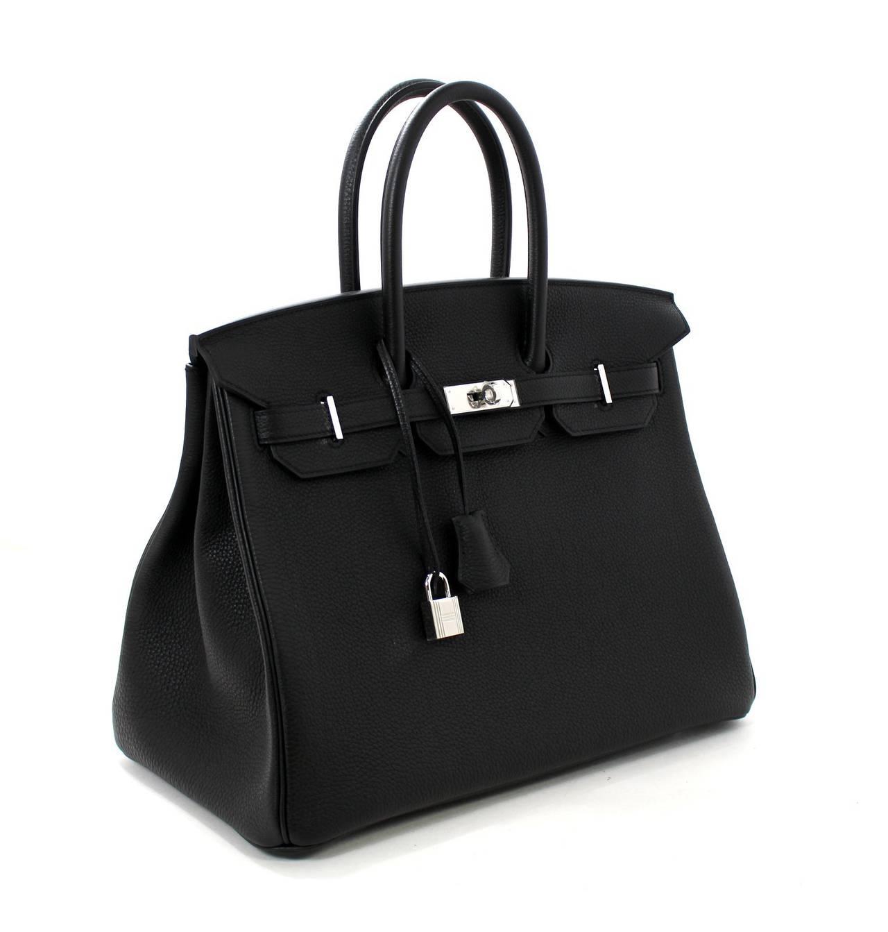 9cb4bc11a9 Hermes Birkin 35 Bag Togo Leather Red