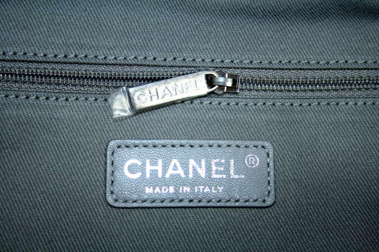 Chanel Small Black Graffiti Art School Backpack 8