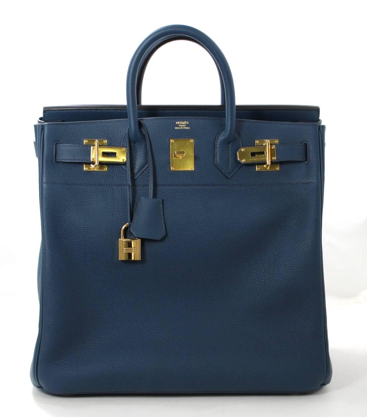 0c472344917 hermes birkin bag for sale - Hermes Blue de Prusse BLUE Togo HAC Haut a  Courroies hermes birkin hac 40 ...