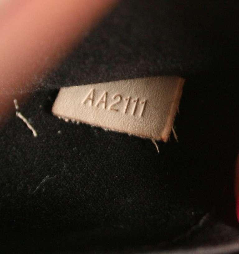 Louis Vuitton Amarante Vernis Brea MM Bag with Strap 10