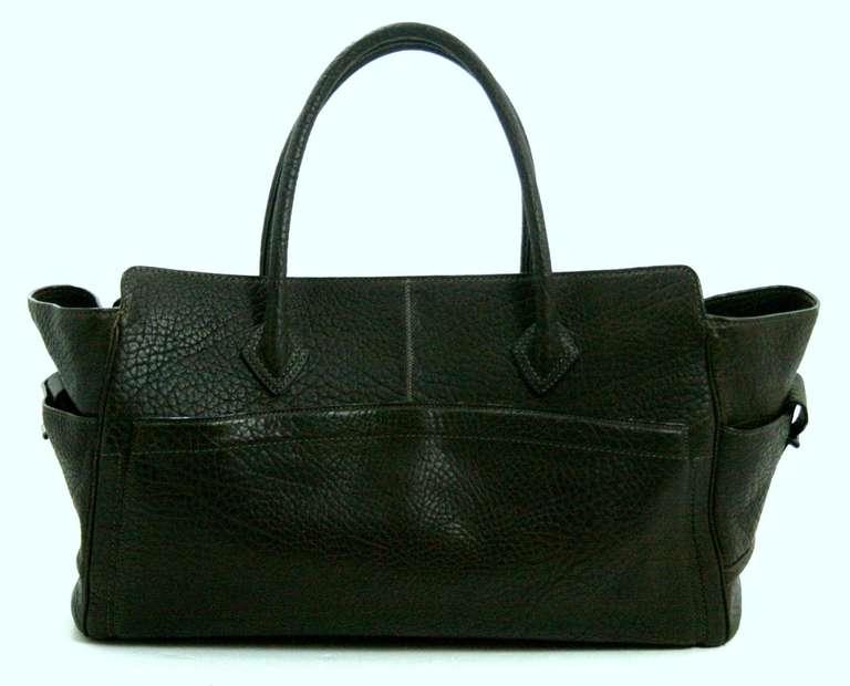 Reed Krakoff Dark Brown Leather Unisex Bag 2