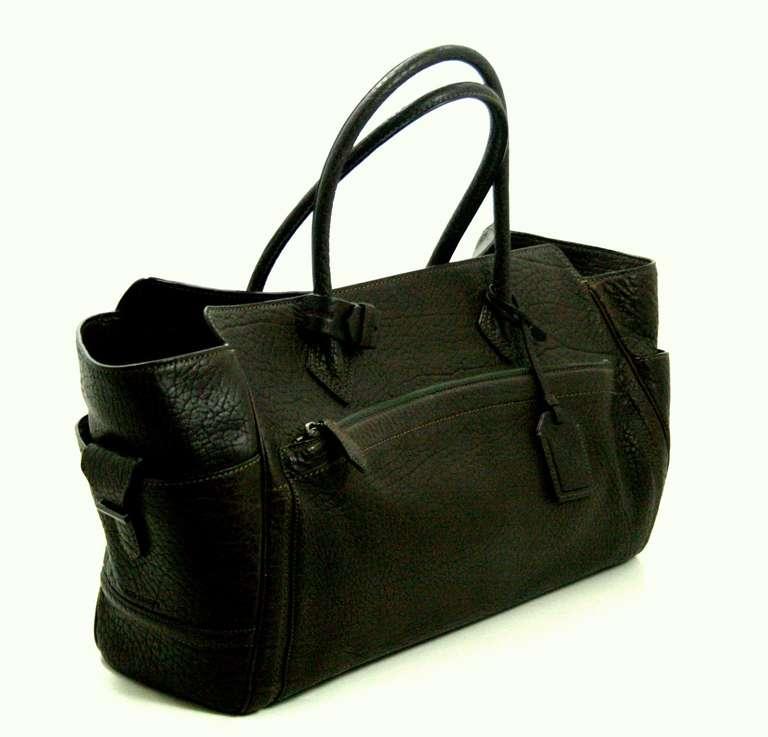 Reed Krakoff Dark Brown Leather Unisex Bag 3