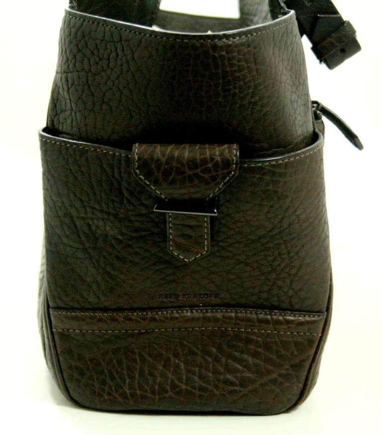 Reed Krakoff Dark Brown Leather Unisex Bag 4