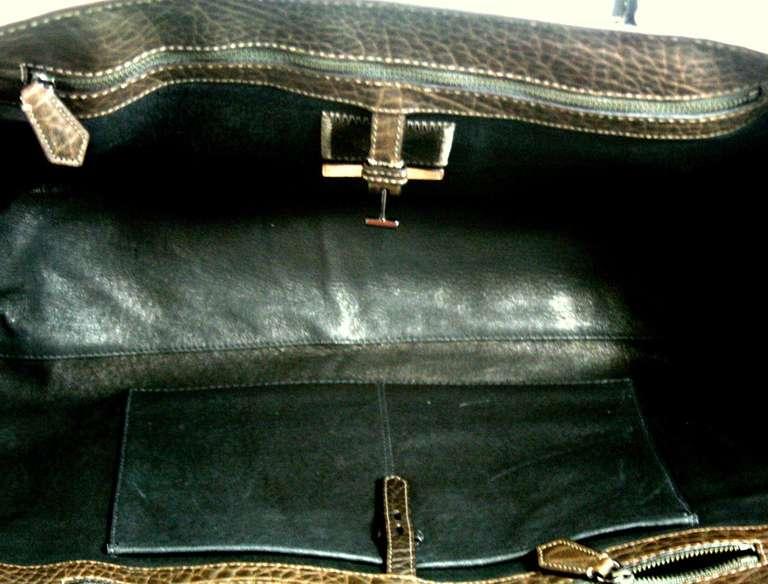 Reed Krakoff Dark Brown Leather Unisex Bag 5