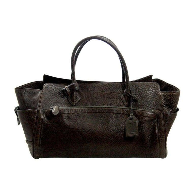 Reed Krakoff Dark Brown Leather Unisex Bag 1