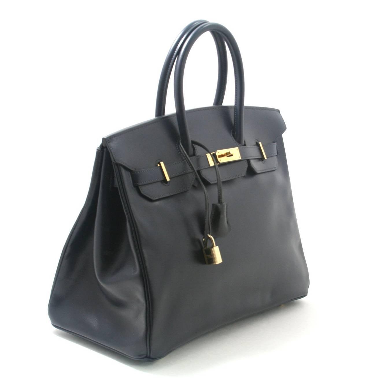 Hermes Birkin Box Calf Leather Box Calf Leather Birkin