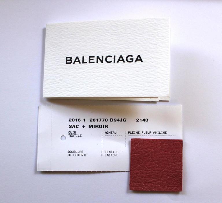 Balenciaga Lambskin Giant 12 Arena City Bag in Rose Hortensia Pink, GHW 9