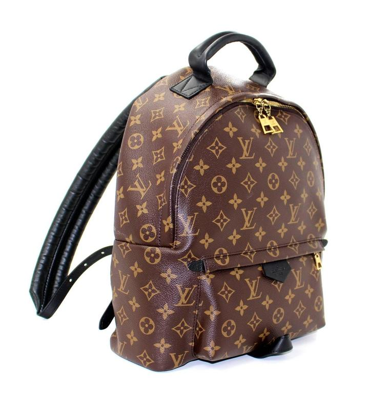 louis vuitton backpack. louis vuitton palm springs backpack- 2016, monogram, backpack l