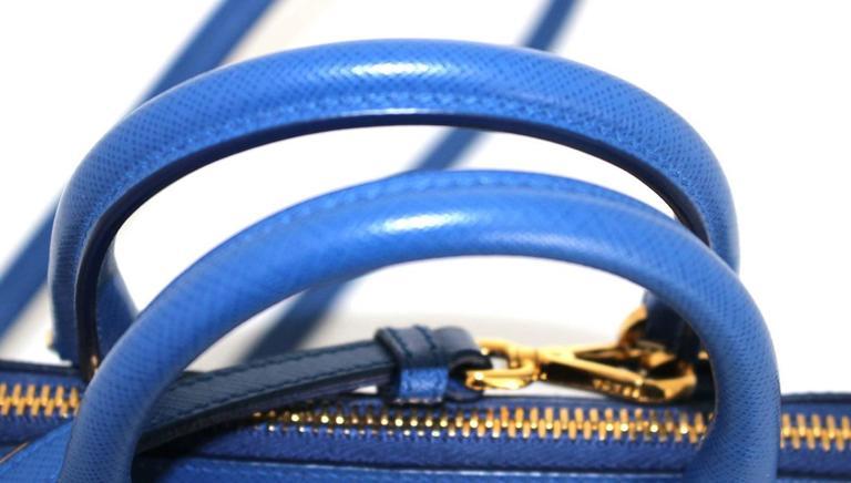 Prada Cobalt Azzuro Saffiano Promenade Bag- Mini 4