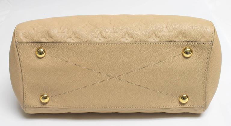 Louis Vuitton Dune Monogram Empreinte Leather Montaigne MM Bag 4