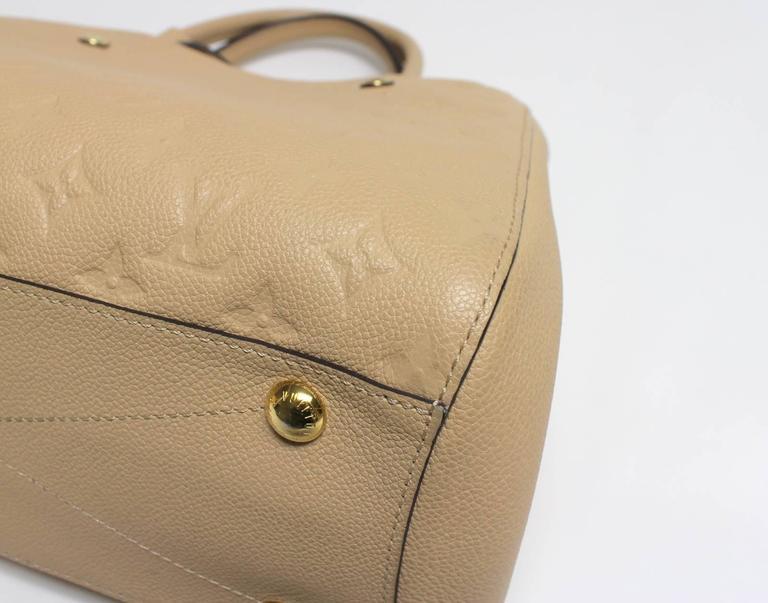 Louis Vuitton Dune Monogram Empreinte Leather Montaigne MM Bag 5