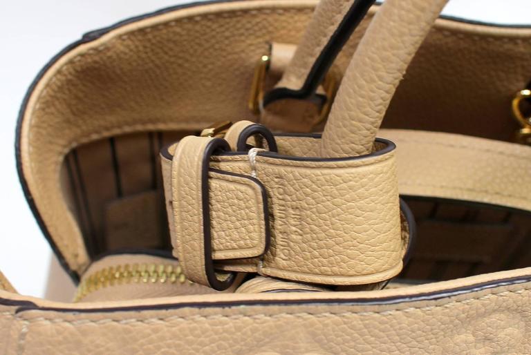 Louis Vuitton Dune Monogram Empreinte Leather Montaigne MM Bag 7