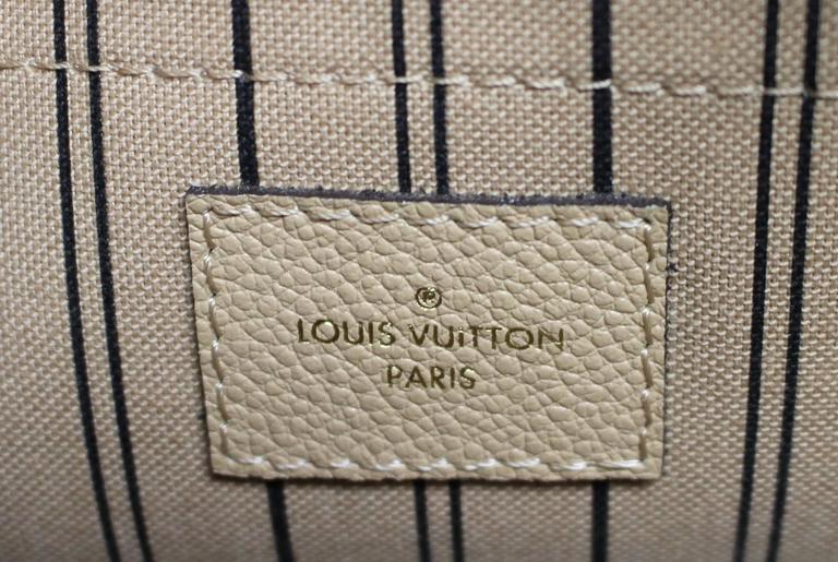 Louis Vuitton Dune Monogram Empreinte Leather Montaigne MM Bag 9