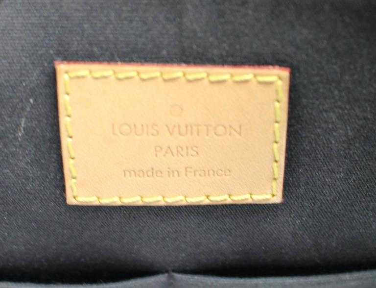 Louis Vuitton White Vernis Stickers Alma PM Bag 9