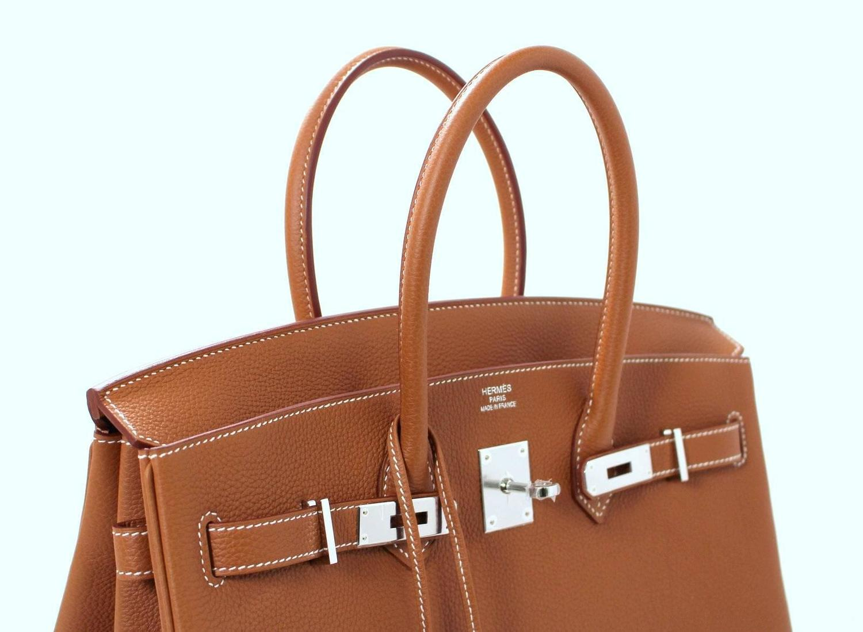 hermes birkin gold togo 35 cm birkin bag price range