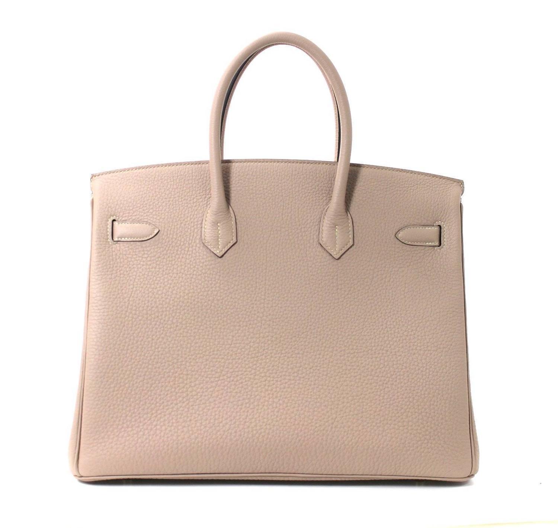 how to tell a fake birkin bag - Herm��s Gris Tourterelle Togo Birkin with Gold- Grey, 35 cm For ...