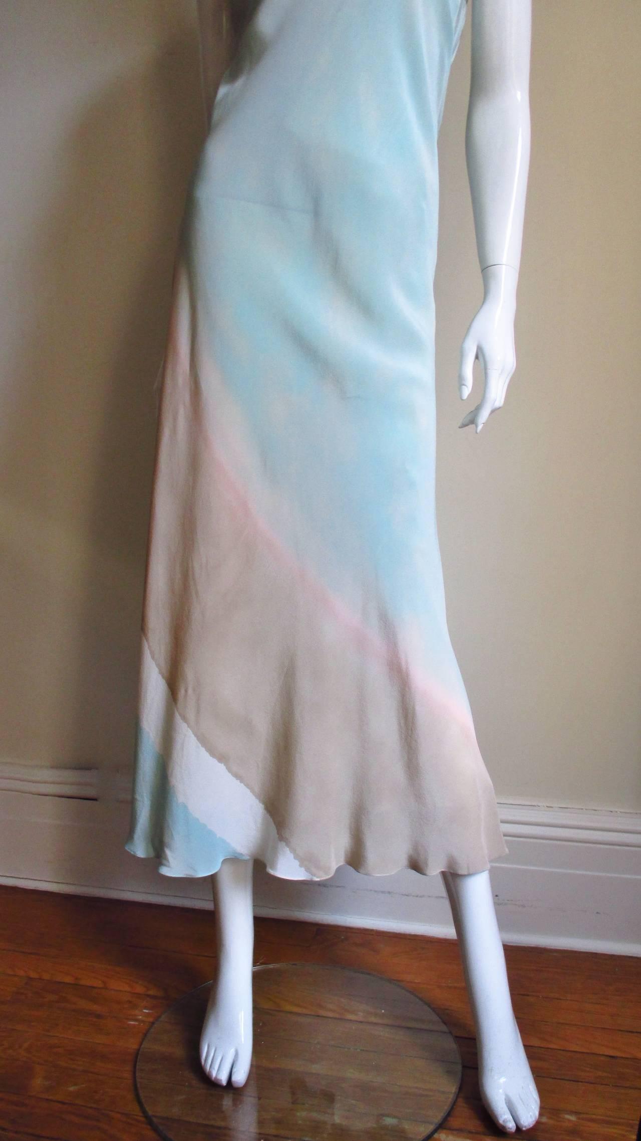 Christian Lacroix Strapless Silk Dress 3