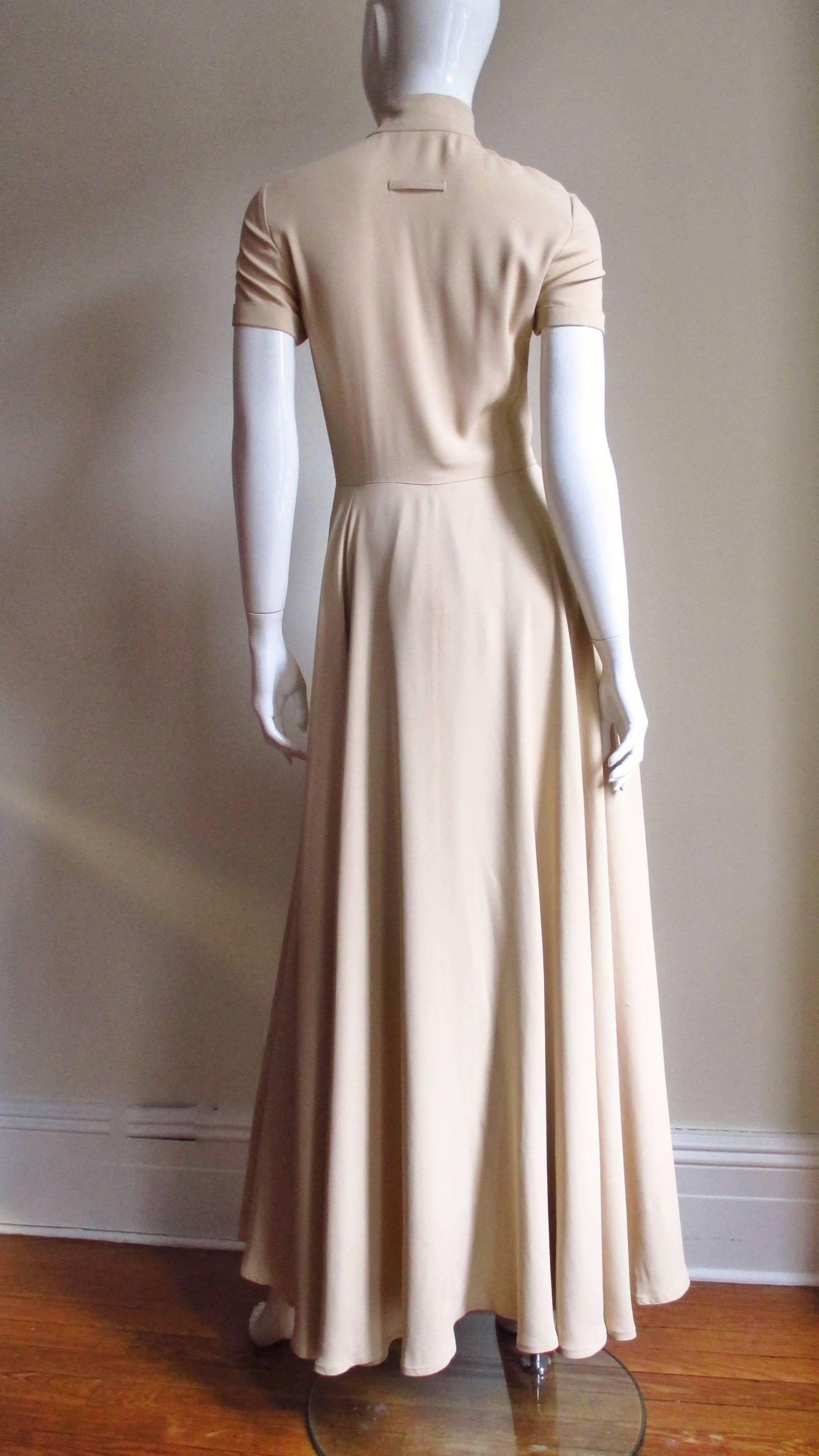 Vintage Gaultier Open Front Overdress 8