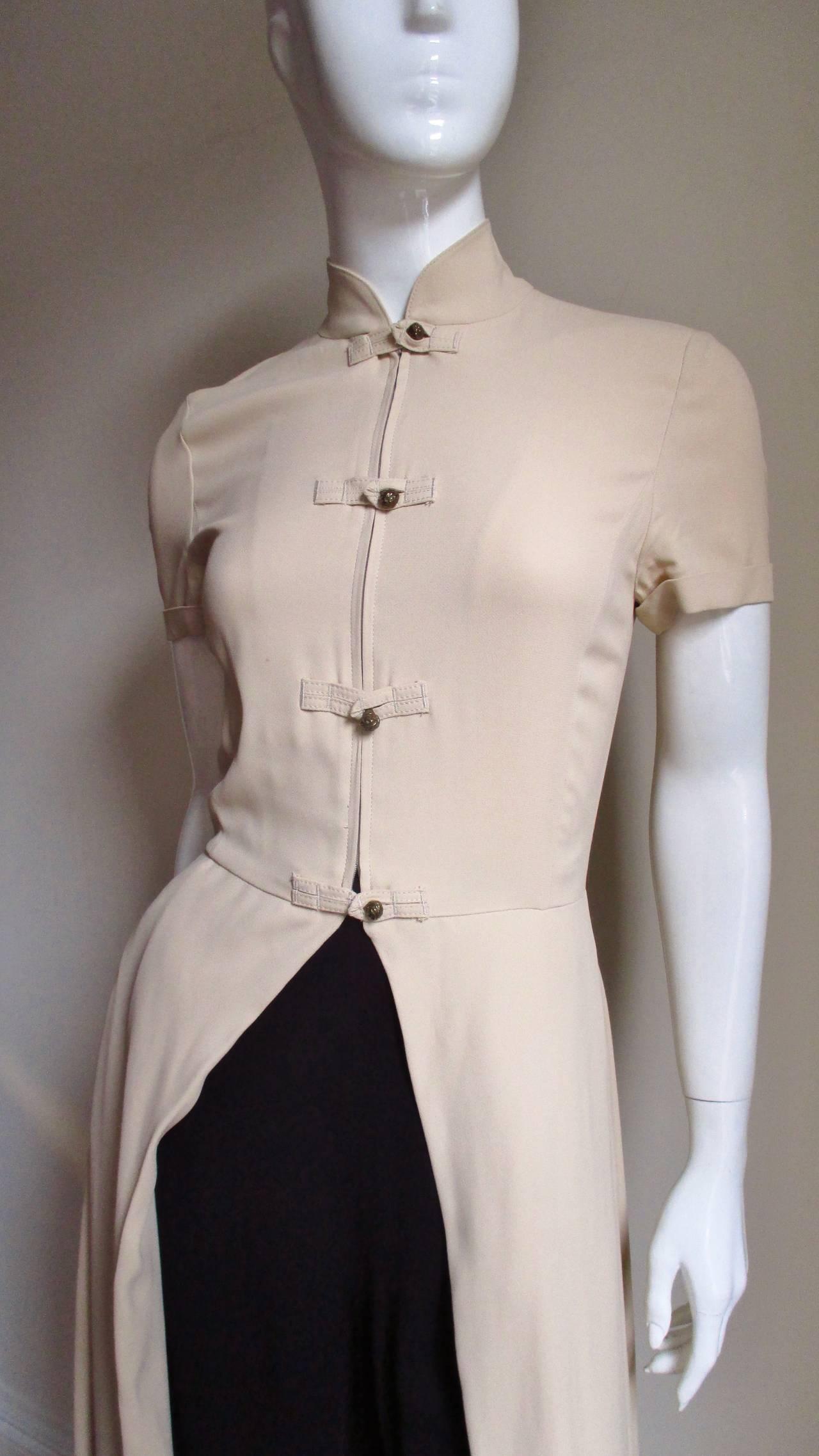 Vintage Gaultier Open Front Overdress 2