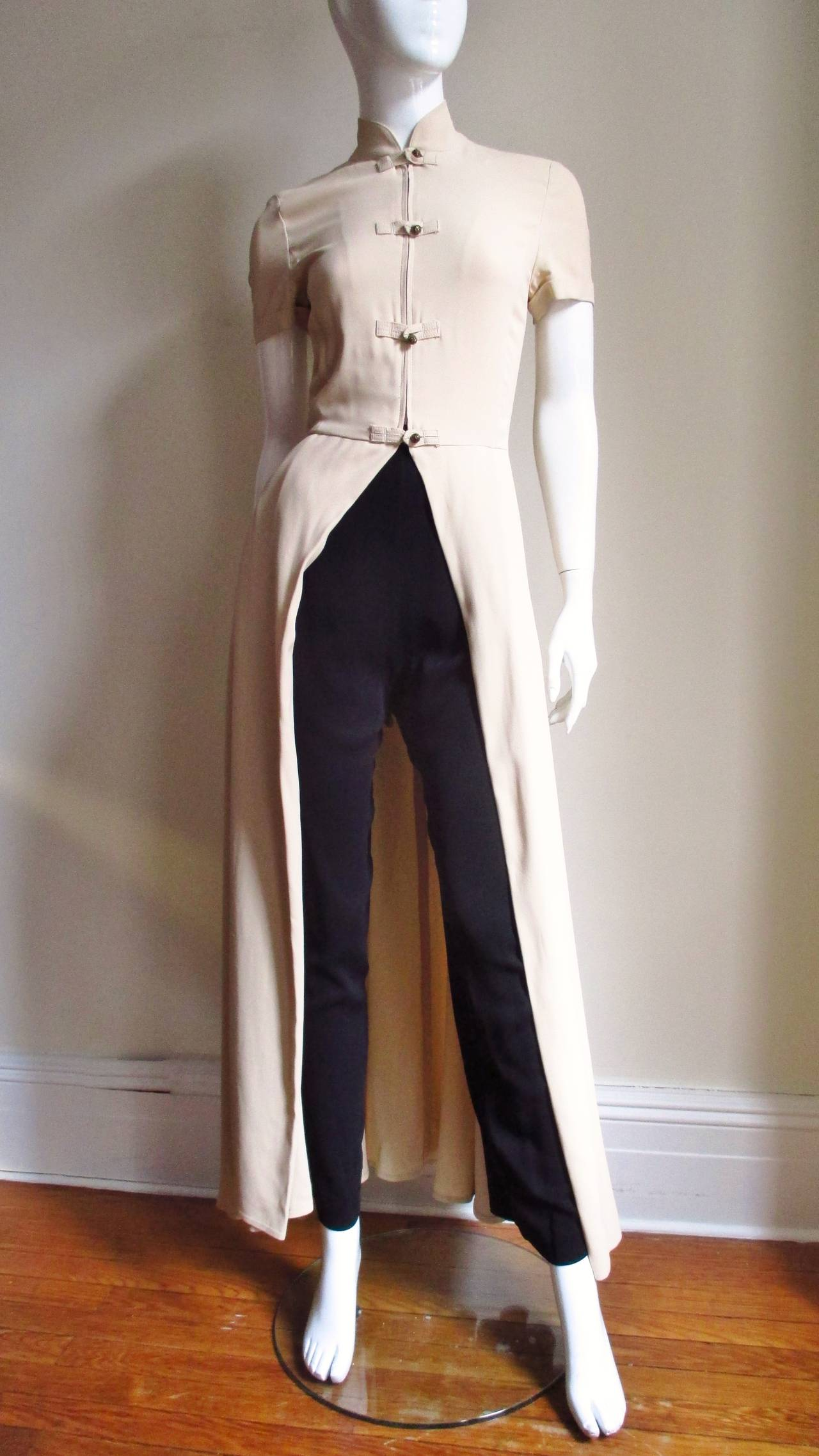 Vintage Gaultier Open Front Overdress 5