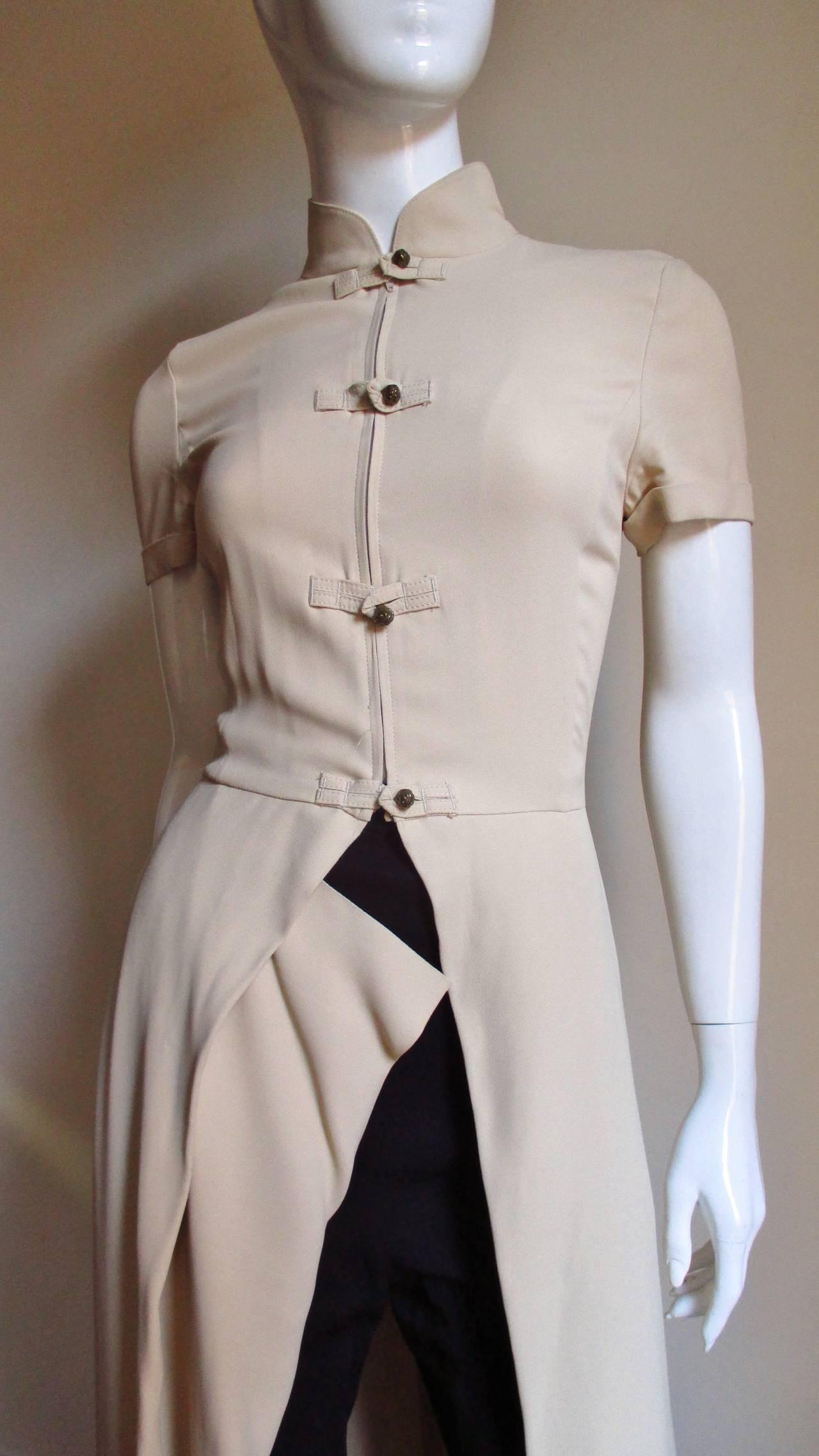 Vintage Gaultier Open Front Overdress 3