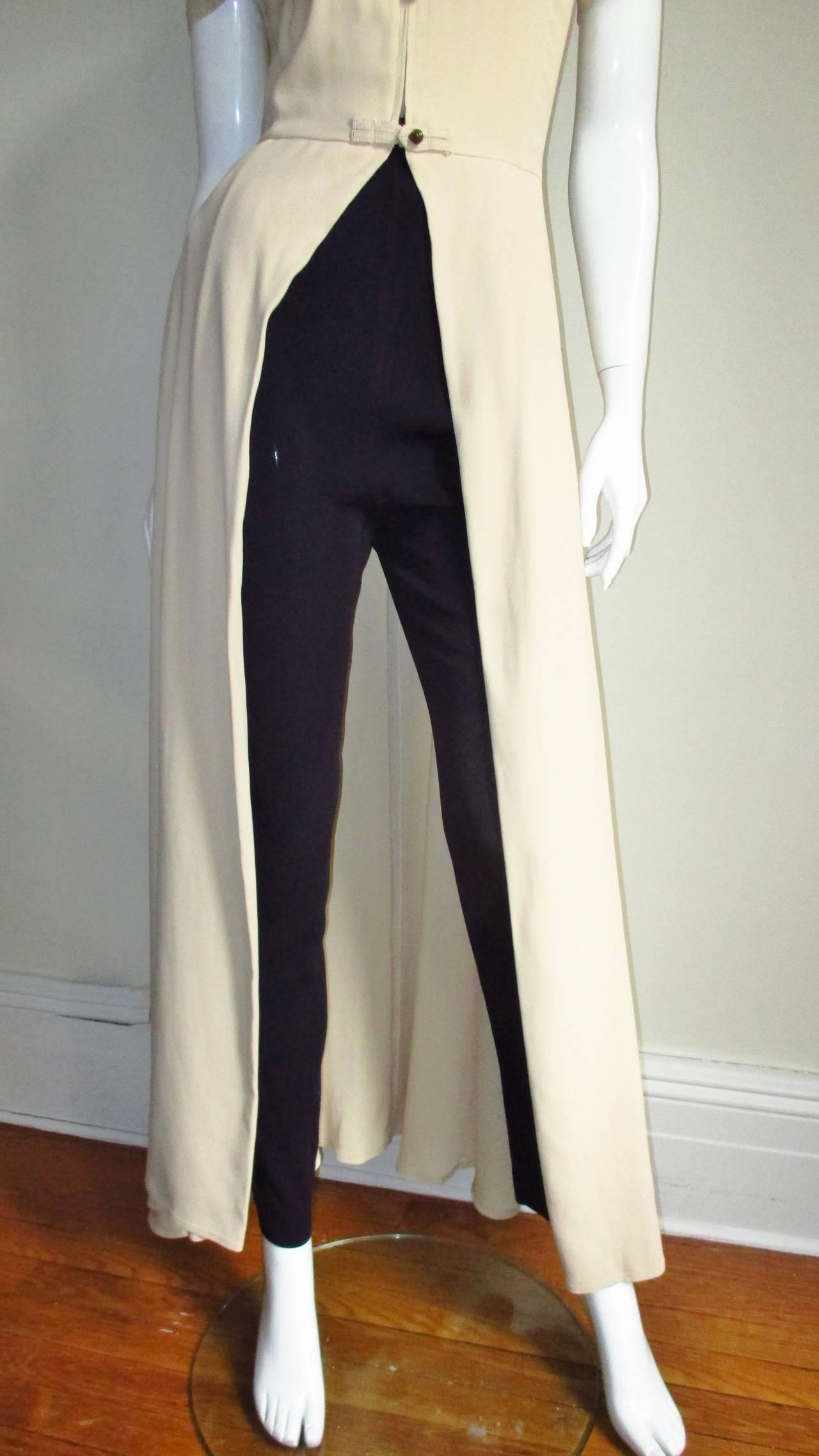 Vintage Gaultier Open Front Overdress 4