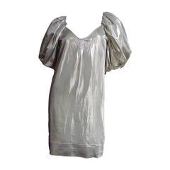 Stella McCartney Silver Silk Dress
