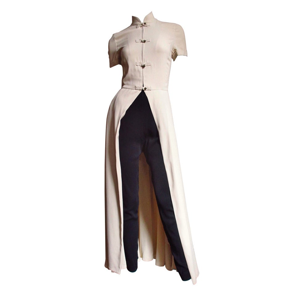 1990s Gaultier Open Front Overdress
