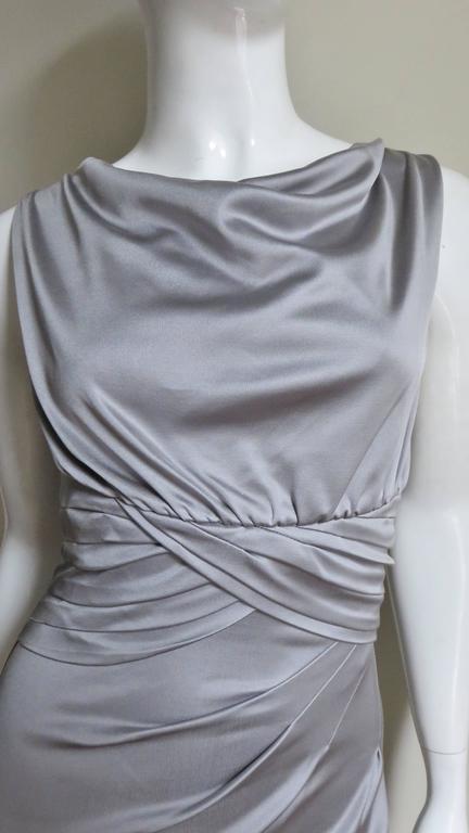 Women's Valentino Silk Jersey Bodycon Dress For Sale