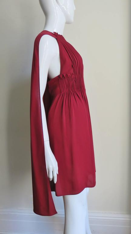 Women's Stunning Valentino Dress With Cape For Sale