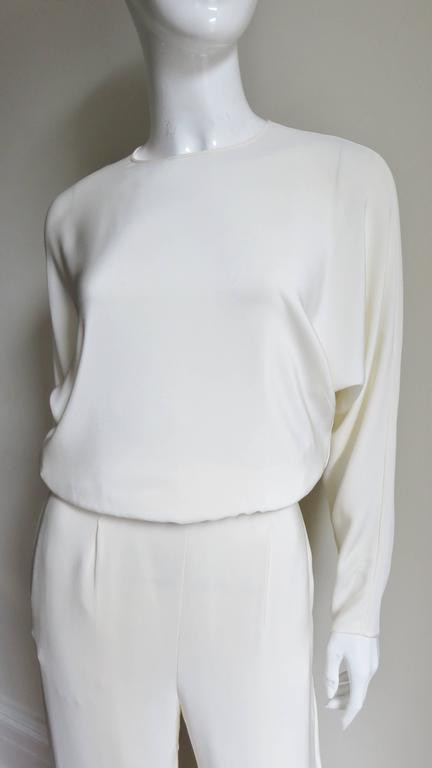 Valentino Slit Back Dolman Sleeve Jumpsuit 2