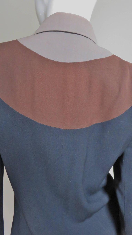 Eisenberg Originals 1950s Color Block Jacket For Sale 2