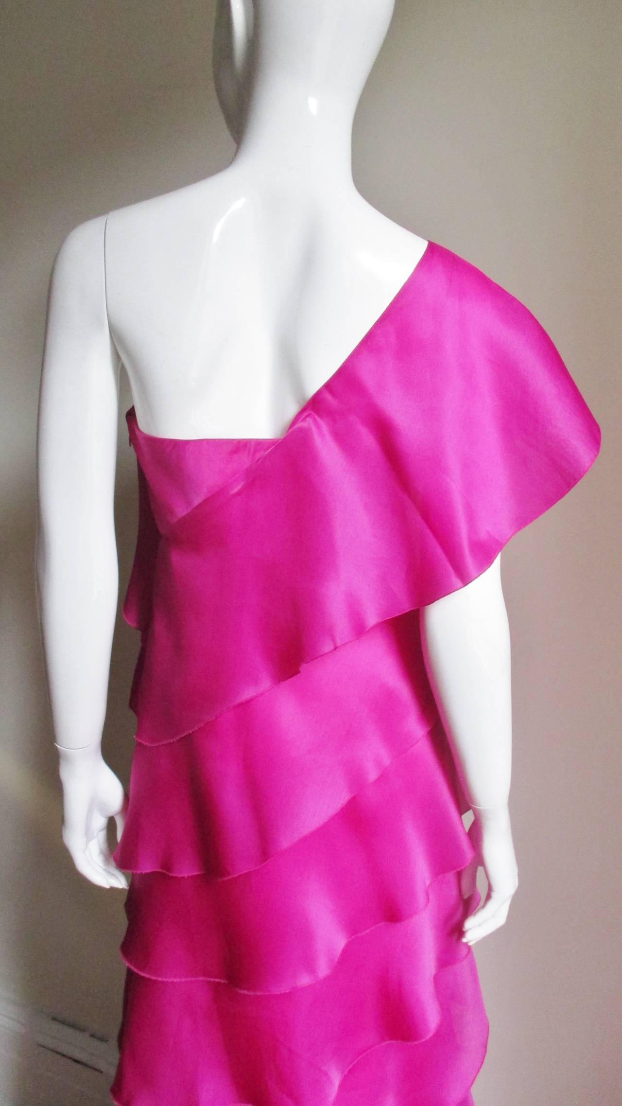 Stunning Jackie Rogers Silk Gown W Shrug 6
