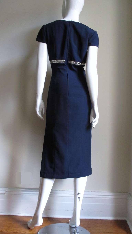 Thierry Mugler Chain Detail Dress 9