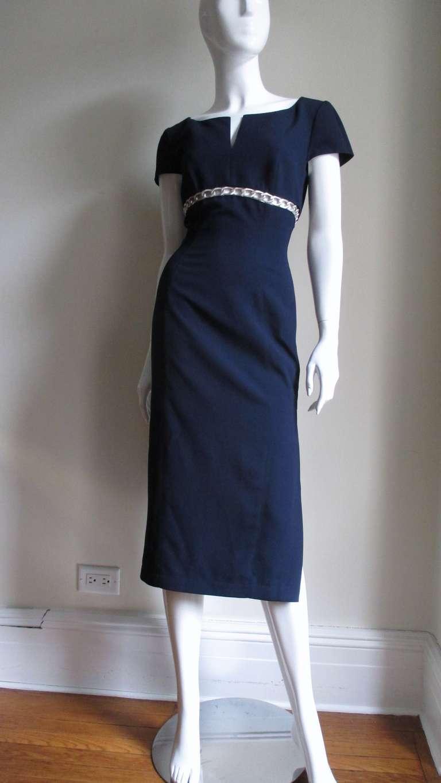 Thierry Mugler Chain Detail Dress 6