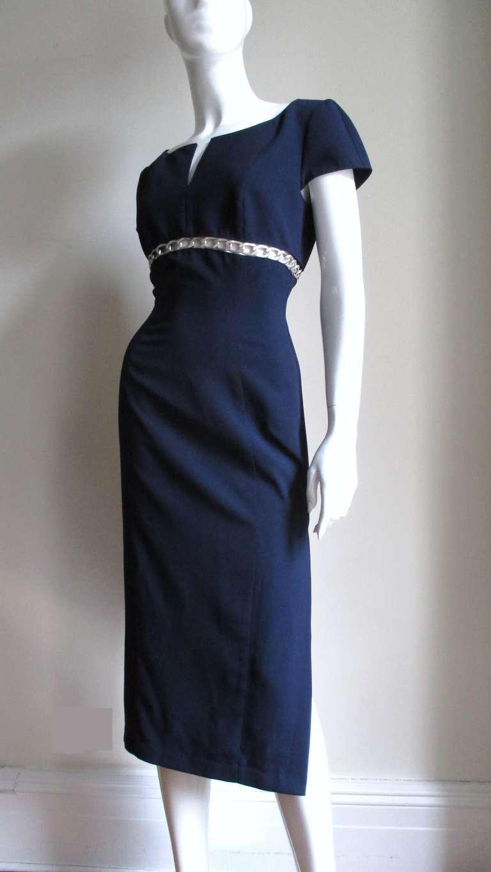 Thierry Mugler Chain Detail Dress 5